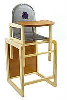 Детский стул трансформер для кормления Собачка