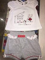 Комплект с шортами на девочку
