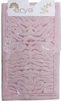 Набор ковриков для ванной  Arya Zebra розовый