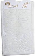 Набор ковриков для ванной и туалета  Arya Zebra белый