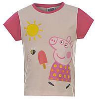 """Футболка детская свинка Пеппа """"Мороженое на палочке""""(Peppa Pig Web T Shirt Infants Ice Lolly)"""