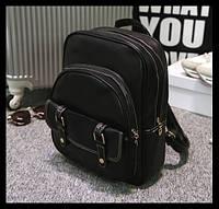 Женский рюкзак в стиле ретро. Очень стильный рюкзак. Молодежный рюкзак. Высокое качество. Купить. Код: КДН134