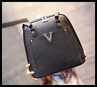 Изысканный рюкзак-сумка. Сумка трансформер. Удобный рюкзак. Стильный аксессуар. Низкая цена. Код: КДН136