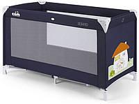 Детский манеж-кроватка Cam Sonno синий