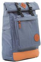"""Практичный рюкзак с отделением для ноутбука 16 л Gin """"Авиатор"""", серый"""
