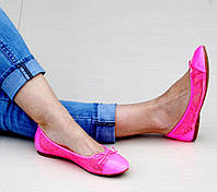 Женские балетки Теос Розовый, фото 1