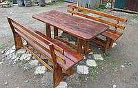 Набор садовой мебели,стол+2 скамейки