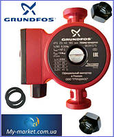 Насос циркуляционный Grundfos UPS 25-40-180 вал металл