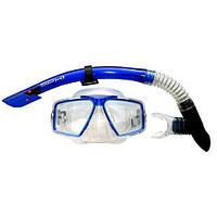 Набор для плавания (маска и трубка) Dolvor М4204Р+SN07PVC