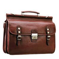 Портфель - саквояж кожаный  Katana 31003