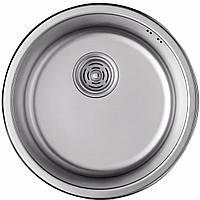 Мойка кухонная из нержавеющей стали ULA HB 7102 ZS Decor