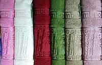 Полотенце бамбуковое ТМ TAG Bamboo Vip (70*140) (E588) цвета в ассортименте
