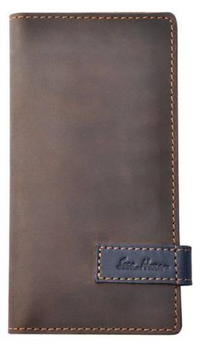 Фирменный кожаный клатч от ISSA HARA CL3 (32-33) brown