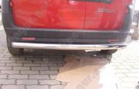 Защитная дуга бампера (заднего) для Fiat Doblo, прямая