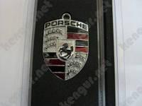 "Брелок на ключи для авто ""Porcshe"" (на тросике)"