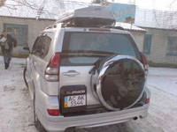 Чехол на запасное колесо Toyota Prado
