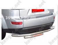 Защитная дуга бампера (заднего) для Mitsubishi Outlander