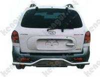 Защитная дуга бампера (заднего) для Hyundai Santa Fe