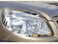 Накладки на передние фары Fiat Doblo