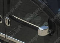 Накладки на боковые стекла Fiat Fiorino