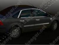 Хром верхняя окантовка стекла Ford Focus