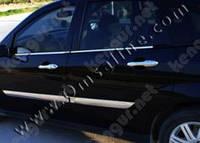 Хром накладки на двери Ford Fiesta