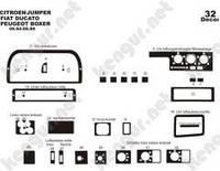 Накладка на приборную панель  Citroen Jumper