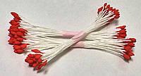 Тычинки для цветов кругло-острые терракотовые 25шт. (код 04916)