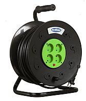 Удлинитель SVITTEX на катушке 30 м на 4 гнезда с сечением провода 2х2,5 мм², код SV-019