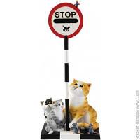 """Декоративная Статуэтка Enesco Коты """"Мышка - STOP!"""" (25211A)"""