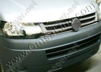 Хромированная накладка на решетку радиатора Volkswagen Transporter