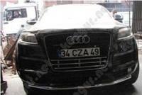 Защитная дуга бампера Audi Q7, прямой ус