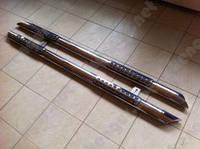 Защита порогов Fiat Scudo, труба