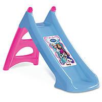 Детская горка с водным эффектом Smoby XS Frozen 90см 310073