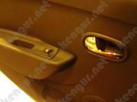 Накладки на внутреннею ручку двери Renault Duster