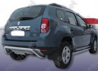 Защита заднего бампера для Renault Duster