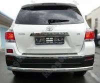 Защитная дуга бампера (заднего) для Toyota Highlander