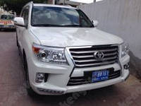 Тюнинг обвес Toyota Land Cruiser 200 (Стиль Lexus LX 570)