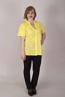 Красивая легкая летняя блузка с коротким рукавом, фото 1