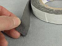 Антискрип М1 Графит, лента 25мм*6м , уплотнительный, проклодочный материал  Маделин