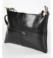 Женский кожаный клатч 7320-05 черный