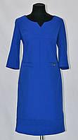 Лаконичное батальное женское платье
