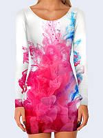 Платье Цветные всплески