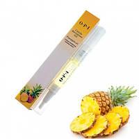 Масло для кутикулы OPI Cuticle Revitalizer Oil карандаш с кисточкой - ананас