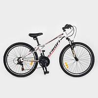 Велосипед Профи Кид 24 дюйма Profi Kid G24A315 алюминиевая рама