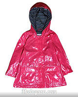 Детский красный дождевик на девочку