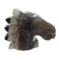 Агат, статуэтка лошадь