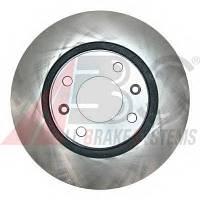 ABS - Тормозной диск передний Peugeot 2008 (Пежо 2008) 1.2 бензин 2013 -  (17336)