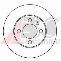 ABS - Тормозной диск передний Seat Arosa (Сеат Ароса) 1.4 бензин 2000 - 2004 (15810)