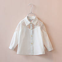 Блуза-рубашка для девочки